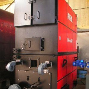 3. Calderas de agua caliente